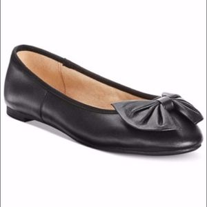 Sam Edelman Circus Black Bow Flats Shoes Size 11